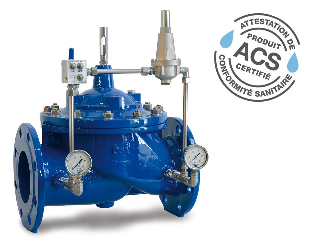 Photo: CSA pressure reducing valve XLC 410.